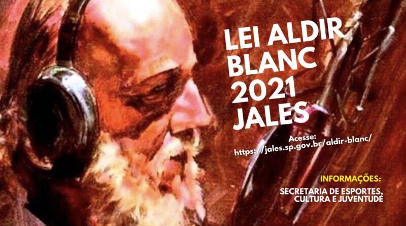 EDITAIS ALDIR BLANC 2021 ESTÃO ABERTOS!